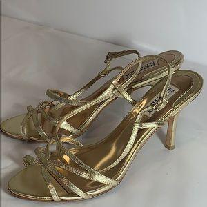 Badgley Mischka Strappy Heels (8)